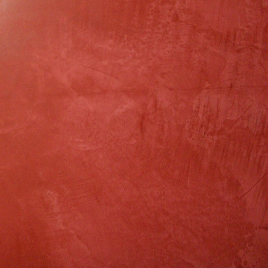 Stages le i rouge - Peinture murale stucco ...